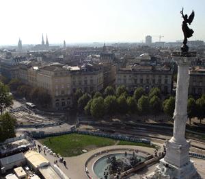 Beautiful Bordeaux city