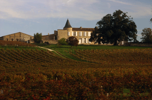 Chateaux in the Blaye Bourg region, Bordeaux, France
