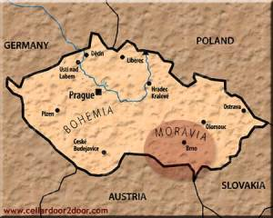 Where is Moravia?
